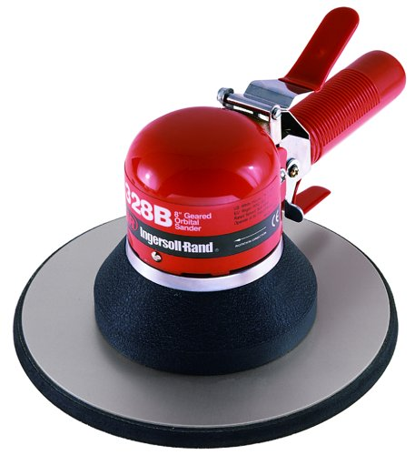 Ingersoll-Rand 328B Heavy Duty Air Geared Orbital Sander – with Balanced Ball Bearing Construction