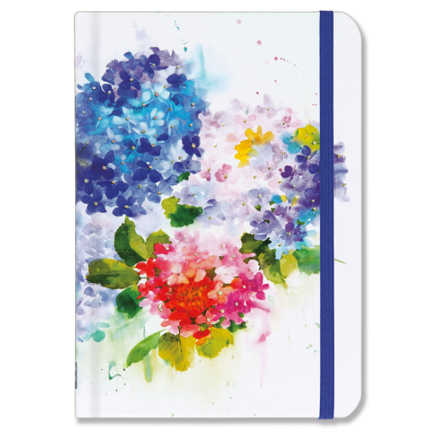 Peter Pauper Press Hydrangeas Journal