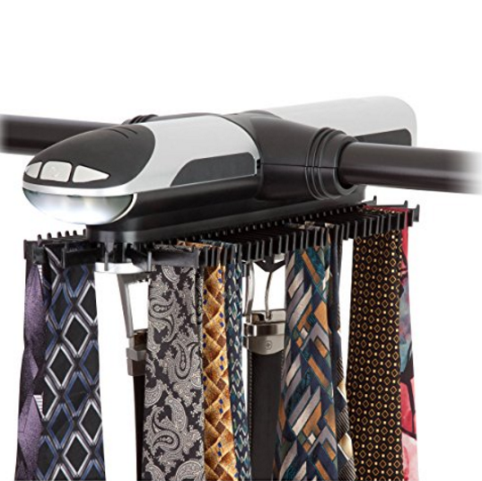 Honey-Can-Do Powered Tie Rack