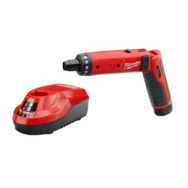 "Milwaukee M4™ 1/4"" Hex Screwdriver Kit"