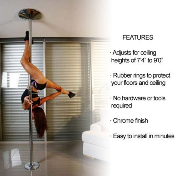 Bada Bing Extreme Portable Dance Pole