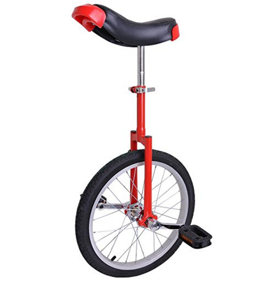 Generic Mountain Bike Wheel Frame Unicycle