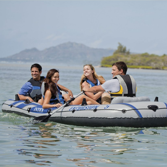 Intex Excursion 5 Inflatable Boat Set