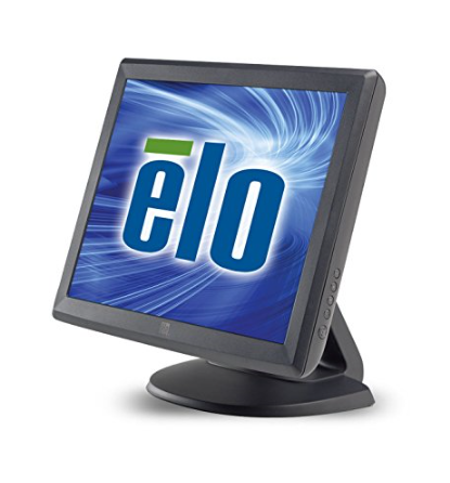 ELO 15-Inch Dark Grey Desktop Touchscreen LCD Monitor