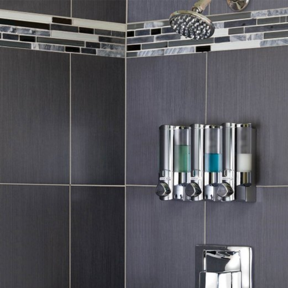 Better Living Aviva Chrome Shower Dispenser