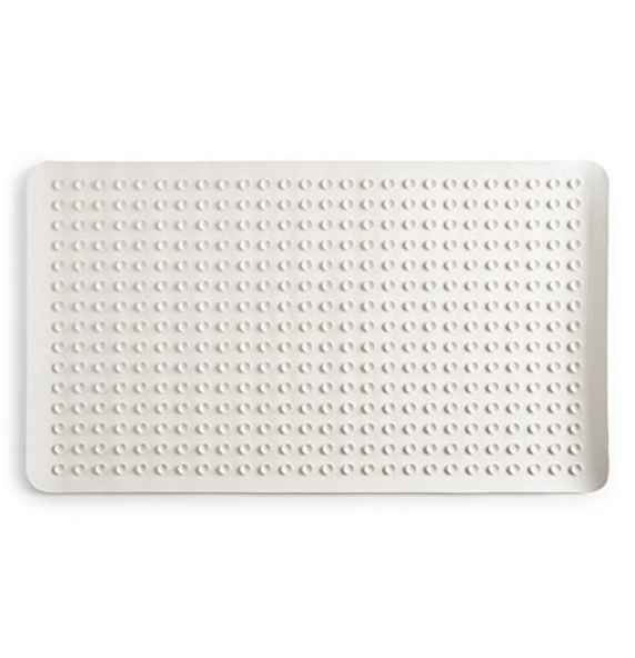 Epica Natural Rubber Anti-Slip Anti-Bacterial Bath Mat – 16-Inch x 28-Inch