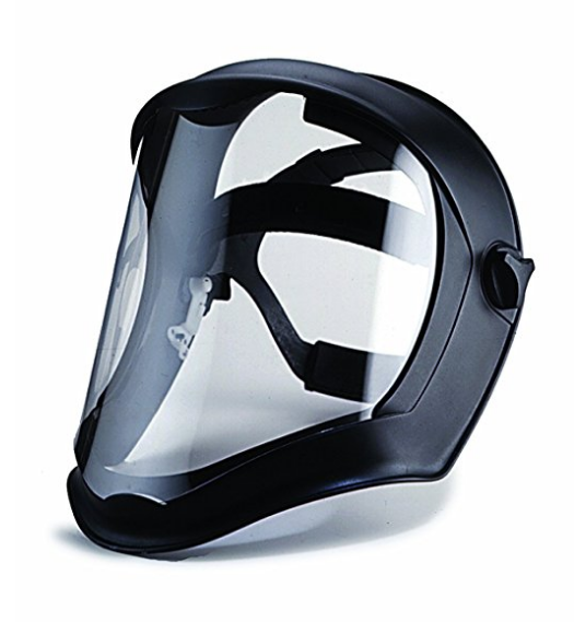 Uvex Bionic Face Shield with Clear Polycarbonate Visor and Anti-Fog Hard Coat – Also Available in a 3 Pack