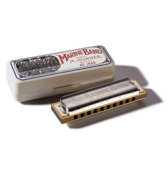 Hohner Marine Band Harmonica - Key of C