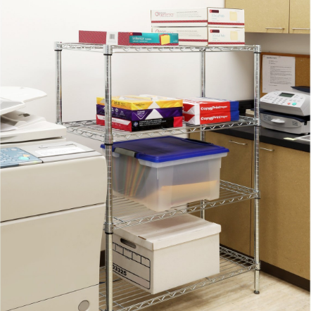 Seville Classics UltraZinc Wire Shelving System