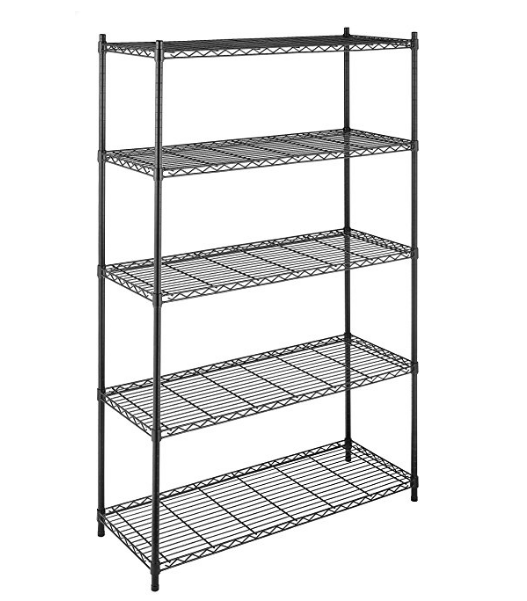 Whitmor 5-Tier Industrial Grade Steel Storage Shelves – Available in 2 Colors & 2 Sizes