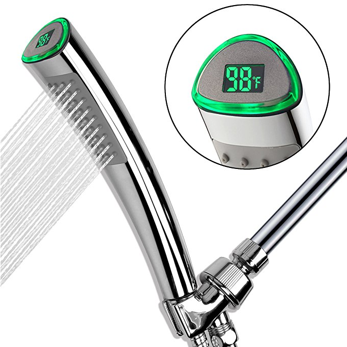 YOU.MEE LED Handheld Shower Head with Temperature Display