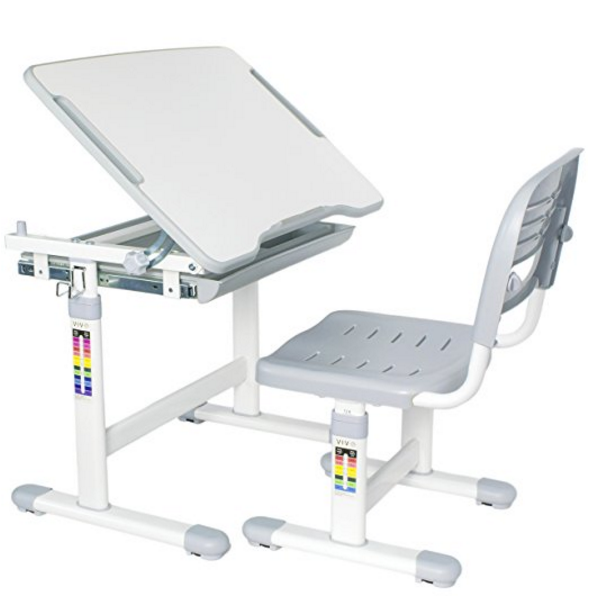VIVO Adjustable Kids Desk & Chair