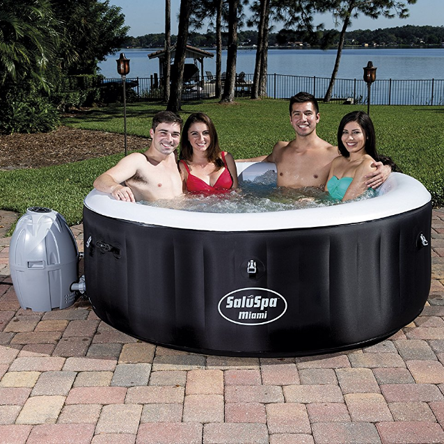 Bestway SaluSpa Miami Inflatable AirJet Hot Tub