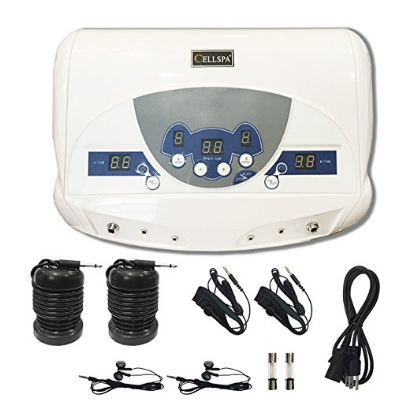 Cell Spa Dual Ionic Detox Aqua Foot Spa Chi Cleanse Machine with MP3 Music Player