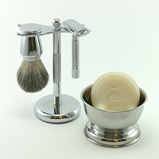 GBS 5 Piece Men's Shaving Set