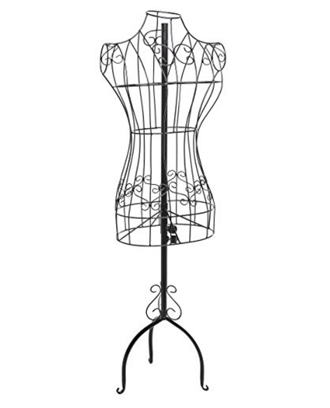 MyGift Wire Frame Dress Display