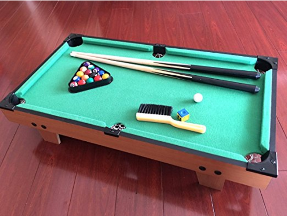 TandS Tabletop Pool Table