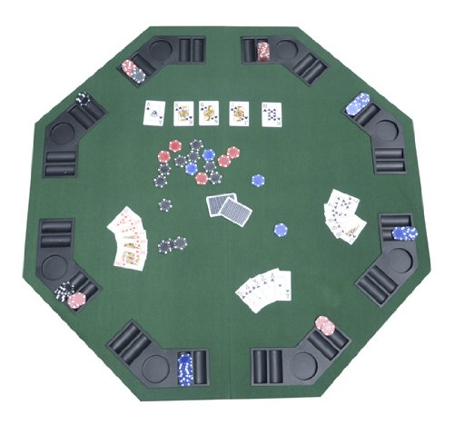 Homcom Foldable Poker Table