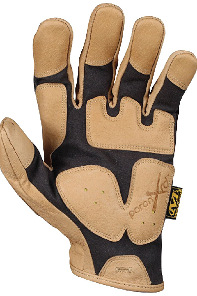 Mechanix Wear CG Leather Impact Pro Gloves - Made from Thermal Plastic Rubber, Multiple Sizes Available