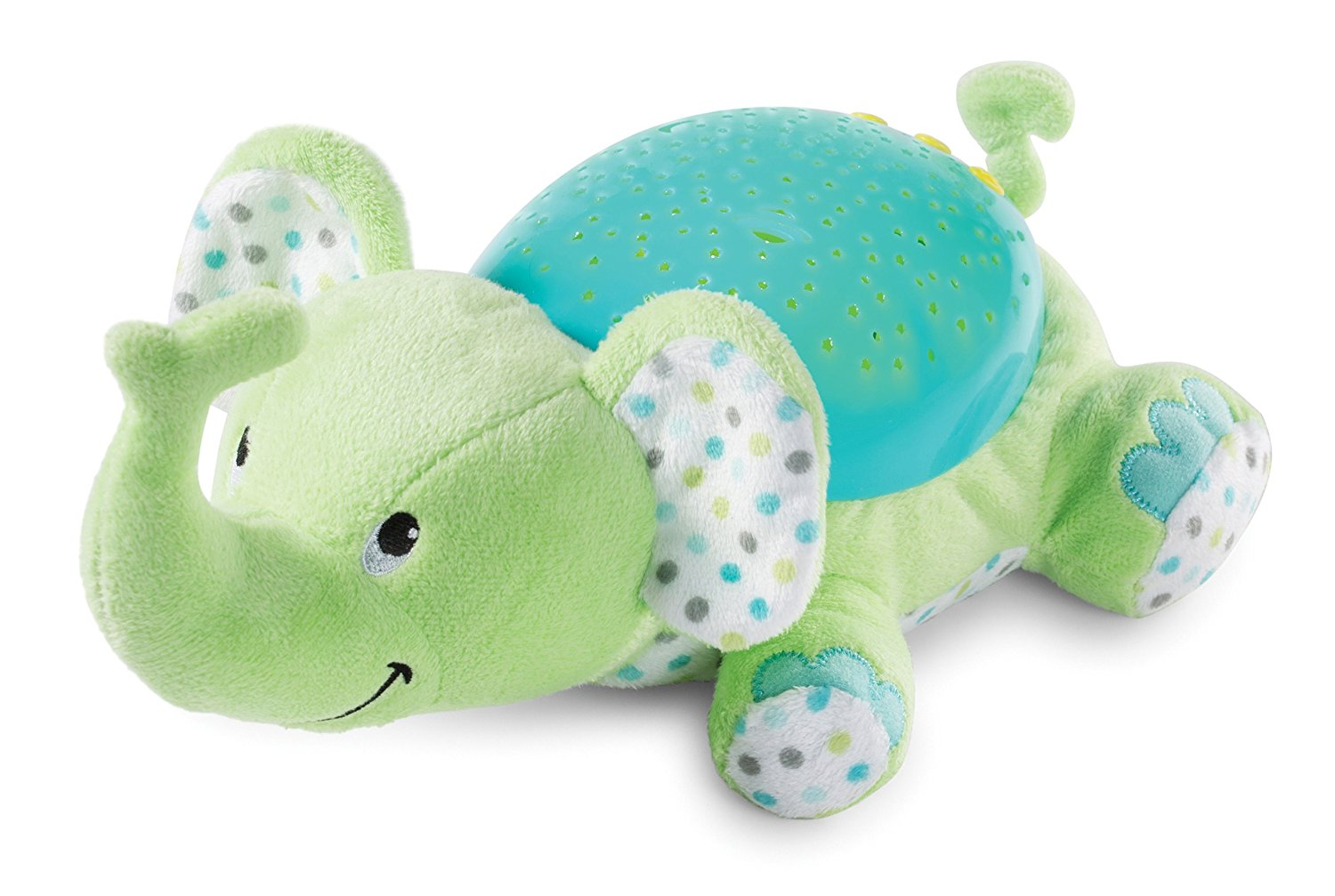Summer Infant Projection and Melodies Soother - Eddie the Elephant, Available in 5 Colors, Made from Polyester