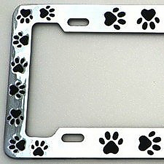 Lpsusa Chrome Metal License Plate Frame