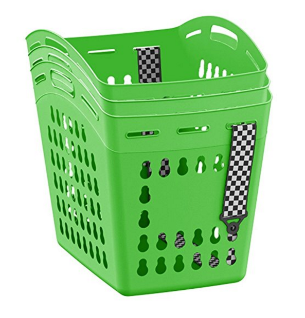 United Solutions 1.5 Bushel Hands Free Laundry Tote with Shoulder Strap – Available in 4 Colors & 3 Pack Sizes