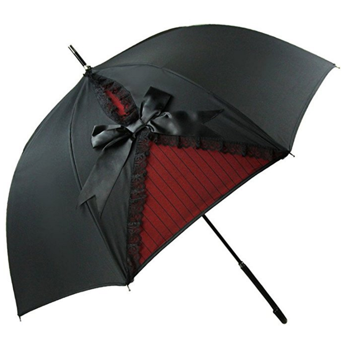 Kung Fu Smith Black Vintage Umbrella