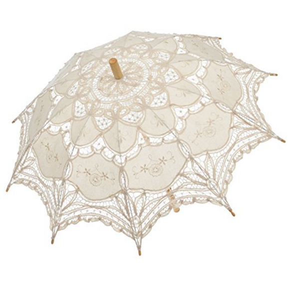 Remedios Lace Parasol Umbrella