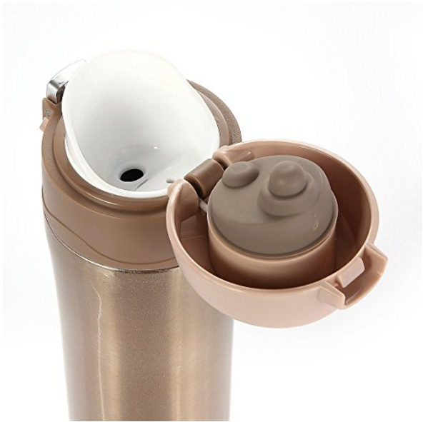 LifeSky 16oz Stainless Steel Travel Mug