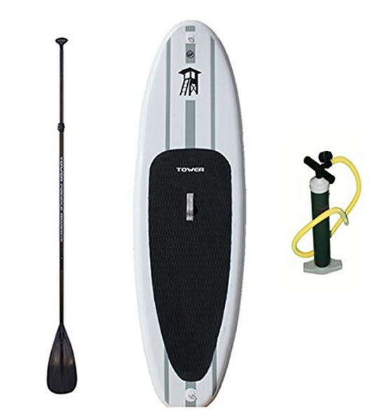 "Tower Paddle Boards Adventurer 1 Inflatable 9'10"" iSUP Package"
