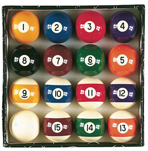Viper by GLD Products Billiards Master Pool Balls