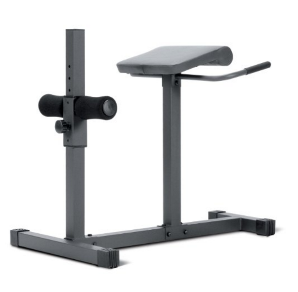 Marcy Roman Chair Hyperextension Bench Gym Equipment – Also Available with Assembly