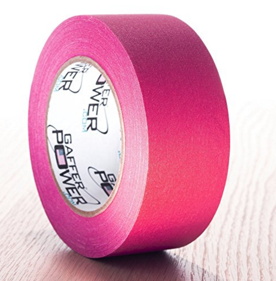 Gaffer Power Professional Premium Grade Gaffer Tape - 2-Inch x 30-Yards – Available in 9 Colors