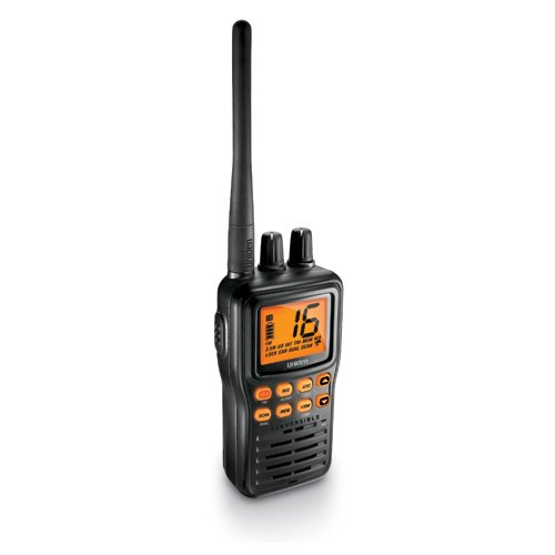 Uniden Handheld Submersible Two-Way VHF Marine Radio – Floating Walkie Talkie Available in 5 Styles