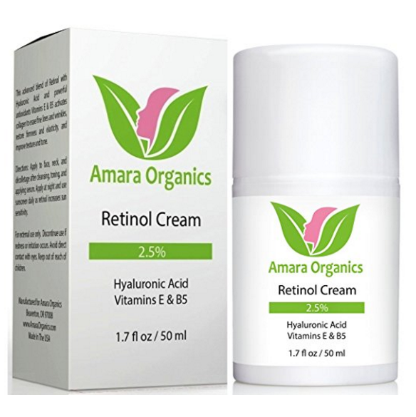 Amara Organics Retinol Cream for Face