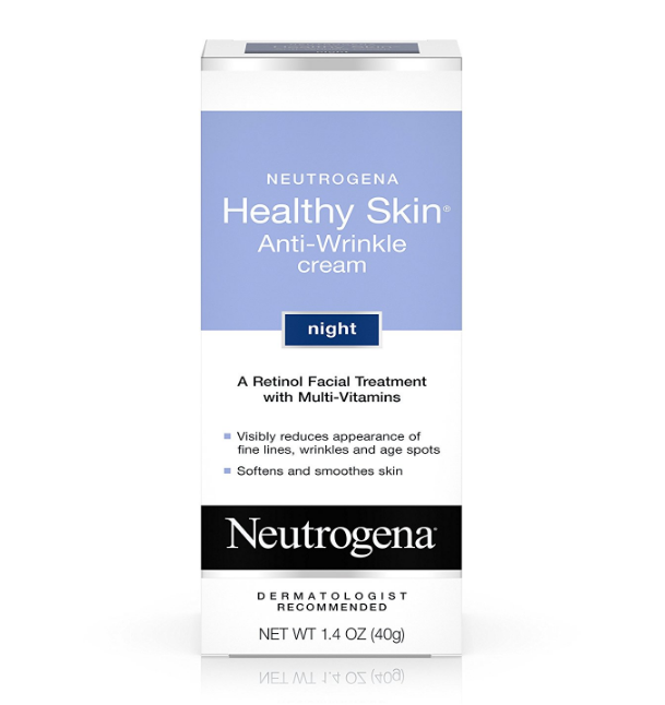 Neutrogena Healthy Skin Anti-Wrinkle Cream – 1.4-Ounce – SPF 15 and Night Cream Available
