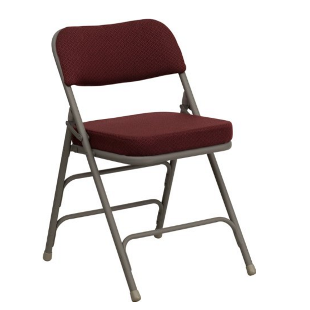 Flash Furniture Hercules Premium Curved Folding Chair