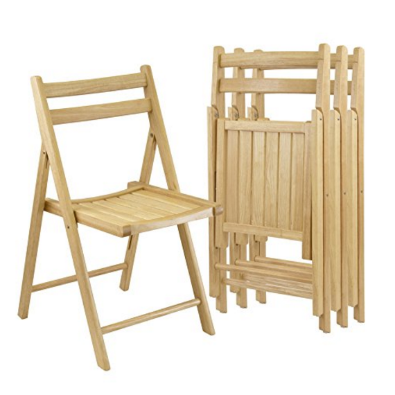 Winsome Wood Robin Folding Chairs