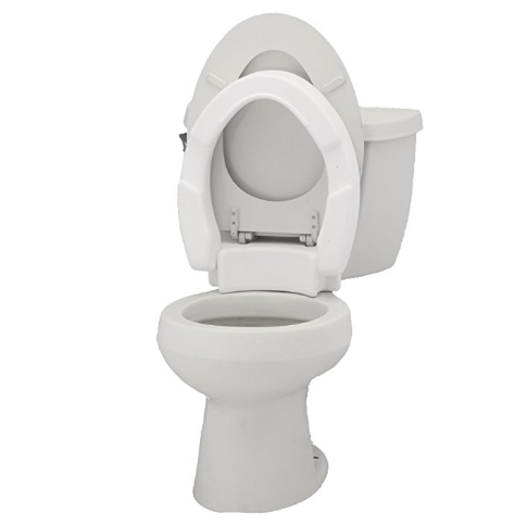 NOVA Medical Products Hinged Toilet Seat Riser
