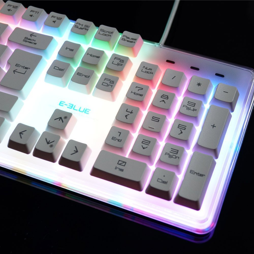 E-3lue Waterproof Gaming Keyboard