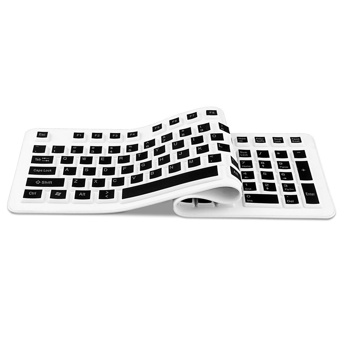 Sungwoo Foldable Silicone Keyboard