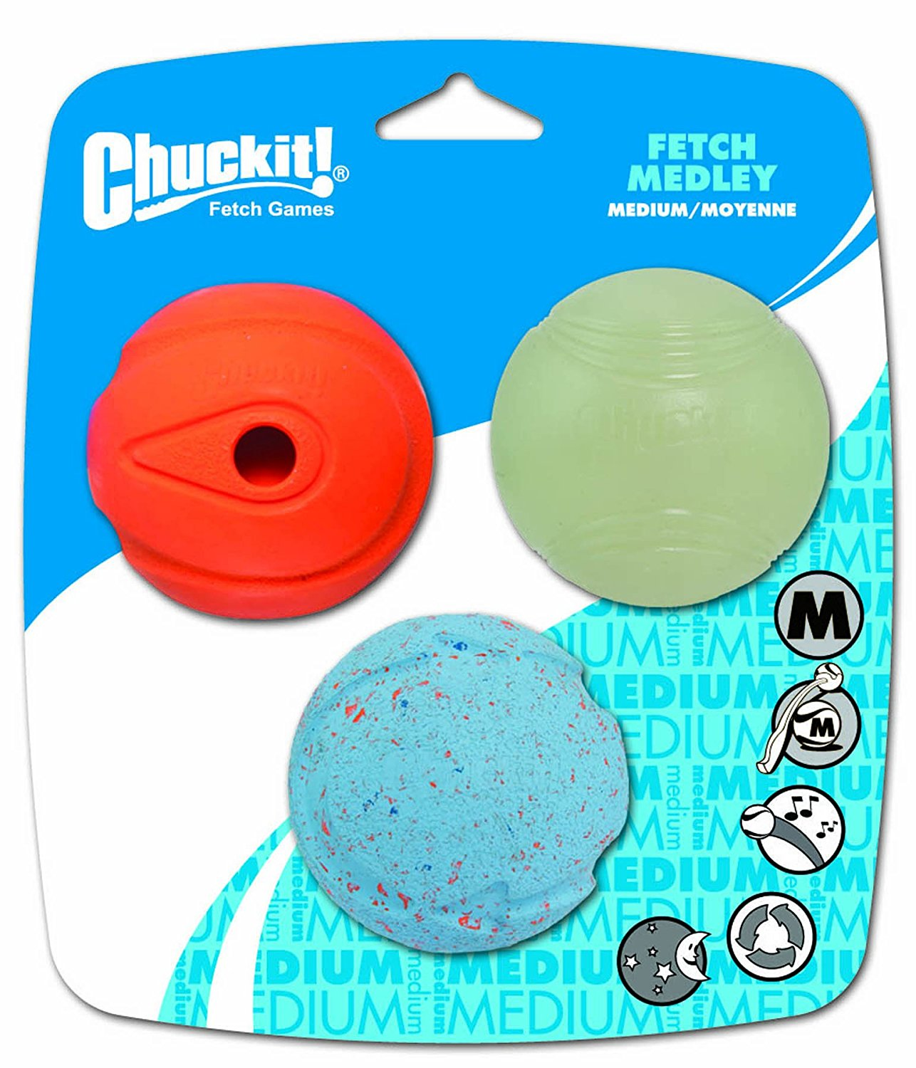 Canine Hardware Chuckit! Fetch Medley
