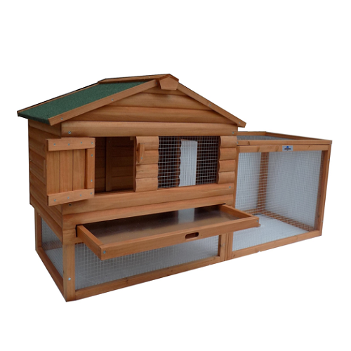 "Confidence Pet 62"" Rabbit Hutch"
