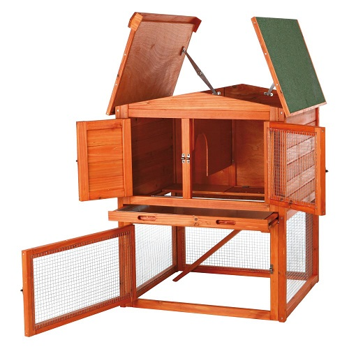 TRIXIE Pet Products Outdoor Rabbit Hutch