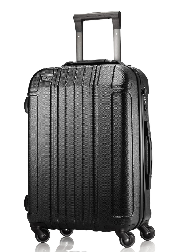 Hartmann Vigor Rolling Carry On – Lightweight, Telescoping handle. Smooth Gliding Spinner Wheels