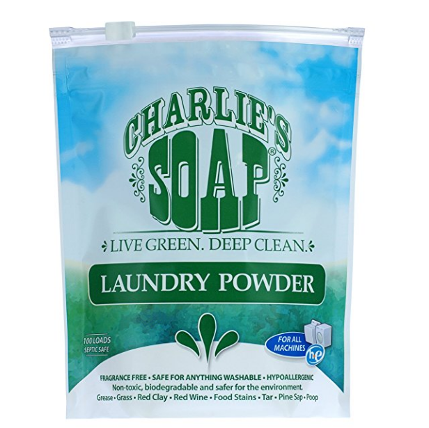 Charlie's Soap Eco Friendly Laundry Powder