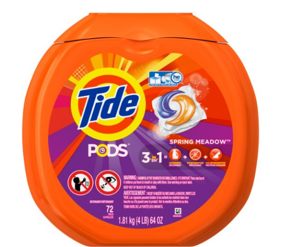 Tide PODS® Spring Meadow Turbo Laundry Detergent Pacs – 72 Load Tub