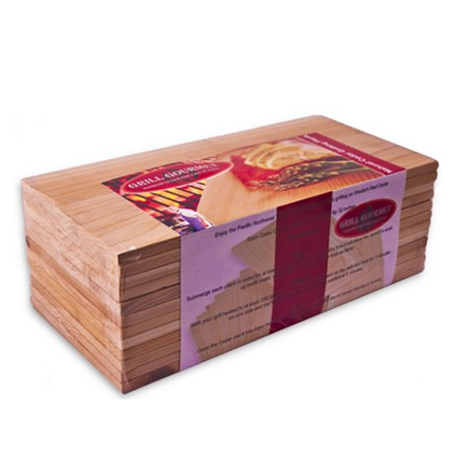 Grill Gourmet 12-Pack Cedar Grilling Planks