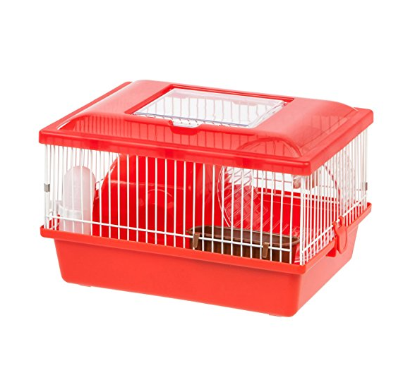 IRIS USA, Inc Hamster and Gerbil Pet Cage – Available in 2 Colors & 3 Tier Options