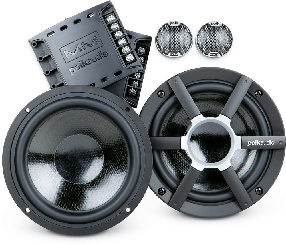 Polk Audio MM651 6.5-Inch Component Speaker System, Marine-Certified w/ Neodymium Magnets